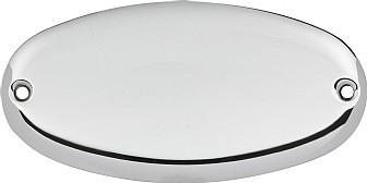 Ovale – Polished chrome