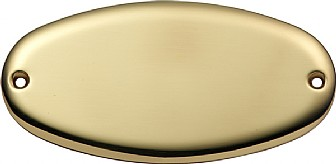 Ovale – Polished brass