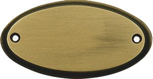 Wellington – Satin/oxidised brass